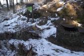 pozůstatky po zřícenině Burkvíz – studna