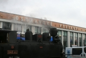 Ostravské výstavy aparní lokomotiva