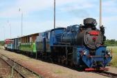Dobírání vody veSlezských Rudolticích přičtvrteční zpáteční jízdě