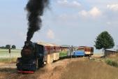 Výletní vlak vDívčím Hradě