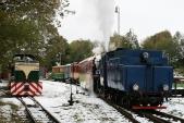 Lokomotivy TU38.001 aU57.001 připosunu vTřemešné veSlezsku