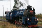 Sólo lokomotiva U57.001 veSlezských Rudolticích
