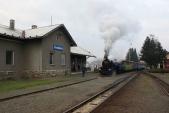 Posun ukazující příjezd vlaku doOsoblahy, kdybydošlo kplánovaném prodloužení trati doPolských Raclawic Slaskich