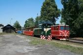 Další setkání lokomotiv TU38.001 a705917, tentokráte vOsoblaze