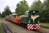 Nedělní vlak poprvé sesoupravou vnové barevné kombinaci