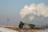 Parní vlak meziLiptaní aTřemešnou veSlezsku