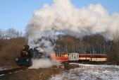 Poslední fotozastávka nemohla být nikde jinde, nežvnejmenším oblouku natrati, potažmo nacelé síti českých železnic