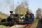 Setkání parních lokomotiv doplňuje ještě motorová - FaurL30H