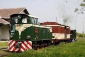 Zkušební vlak dorazil docíle své cesty, doLiptaně