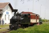 Souprava zkušebního vlaku připravena nazpáteční cestu