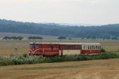 Osobotách je občas možno vidět pravidelný vlak sedvěma vozy. Nově lze tak srovnat rekonstruovaný a nerekonstruovaný vůz Balm/ú.