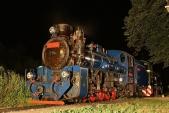 Tak adalší sezóna je zanáma... Poslední srpnová neděle večer schladnoucí parní lokomotivou.