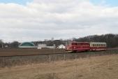 Oblíbené fotomísto u Bohušova dostalo přes zimu novou kulisu - bioplynovou stanici