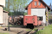 Poslední chvilky vozu Balm/ú 666 na Osoblažských kolejích...