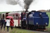 Zastavení martinského vlaku v Horních Povelicích