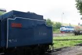 """""""Malý Štokr"""" stál svědkem rozjezdu lokomotivy T478.1002 s patřičnou zvukovou kulisou typickou pro netlumený šestiválec v těchto lokomotivách, 6.7.2013"""