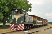 """Poslední pravidelný vlak s lokomotivou """"Faur"""" zastavil ve Slezských Rudolticích"""
