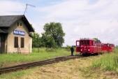 Na den dráhy 2004 byl s budovou zvěčněn motorový vůz M21.004, který zde jel k příležitosti prvního turistického vlaku budoucích SZD.