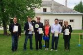 Společná fotografie čerstvých držitelů certifikátu Jeseníky - originální produkt.