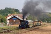 Parní vlak v Bohušově
