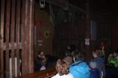 V Osoblaze, v Čekárně u Hotzenplotze byl návštěvníkům promítán nový film Osoblažska režiséra Daniela Bordovského.