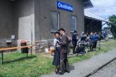 Během přestávky v Osoblaze se dalo i tančit.