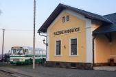 Na Martinské hody v listopadu 2018 se vedle budovy objevil historický autobus Karosa ŠL11.