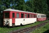 Odstavené vozy Btu 902 a 908 (Balm/ú 656 a 669) v Třemešné ve Slezsku na koleji 3u 27.6.2010