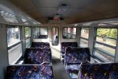 Interiér rekonstruovaného vozu Btu 901