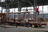 přestavba rumunského vysokostěnného vozu na výletní vůz Ca/ú 31
