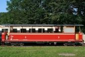přechodný vzhled výletního vozu Ca/ú 32 v sezóně 2010, 1.8.2010