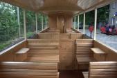 interiér vozu pro imobilní cestující