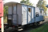 Pivní vagón ve své podobě v roce 2005
