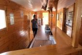 Interiér Pivního vagónu