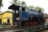 10. září a lokomotiva opouští  Třemešnou.