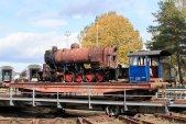 10. říjen a lokomotiva se na chvíli ukázala na slunci.