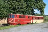 705 917 odjíždí z Třemešné ve Slezsku 5.7.2008