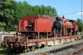 Lokomotiva 1932 JŽ poprvé představena veřejnosti na Den dráhy 2008 v Třemešné