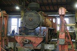 Oprava lokomotivy U57.001