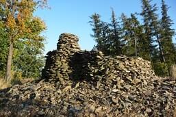 zřícenina hradu Burkvíz