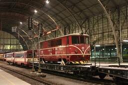 Lokomotiva 705 916 opustila Osoblažku