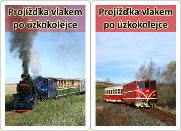 Projížďka vlakem